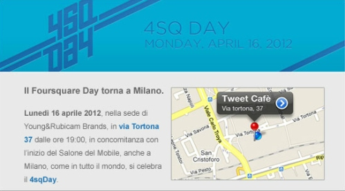 4sqday milano